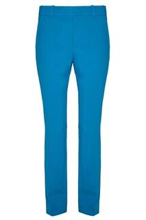 Голубые укороченные брюки Gucci
