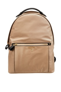 Бежевый рюкзак Nylon Kelsey Michael Kors