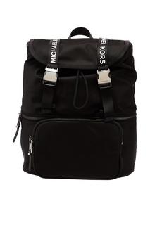 Черный рюкзак The Michael Bag