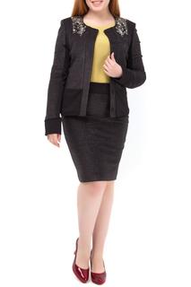 Костюм: пиджак, юбка Diana Gallesi