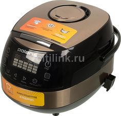 Мультиварка POLARIS PMC 0557AD, 860Вт, бронзовый/черный