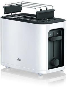 Тостер BRAUN HT3010, белый/черный [0x23010009]