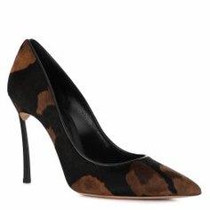 Туфли CASADEI 1F101D100 леопардовый