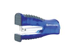 Степлер Brauberg Daten №24/6 до 20л Black-Blue 226864