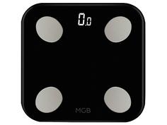 Весы напольные MGB Body fat scale Glass Edition Black MGB F19 BB