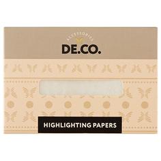 Салфетки-хайлайтер для лица DE.CO. moon light 30 шт Deco