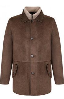 Утепленная куртка из замши Loro Piana