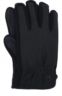 Утепленные шерстяные перчатки Paul&Shark Paul&;Shark