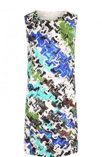 Мини-платье с круглым вырезом и принтом M Missoni