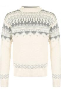 Кашемировый свитер с воротником-стойкой Ralph Lauren