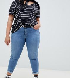Выбеленные моделирующие джинсы скинни Levis Plus 310 - Синий