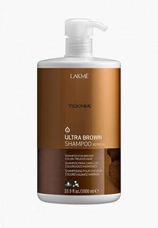 Шампунь оттеночный Lakme Teknia Ultra Brown Shampoo