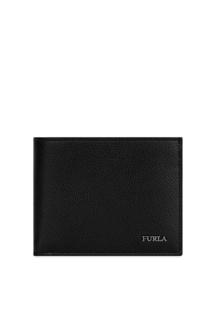 Кожаный кошелек черного цвета Marte Furla