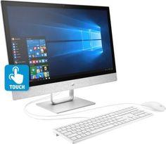 "Моноблок HP Pavilion 24-x050ur 23.8"" Full HD Touch i5 7400T/4Gb/1Tb 7.2k/Opt16Gb/530 2Gb/W10/kb/m/бе [3es07ea]"