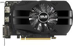 Видеокарта ASUS nVidia GeForce GTX 1050 , PH-GTX1050-3G, 3Гб, GDDR5, Ret