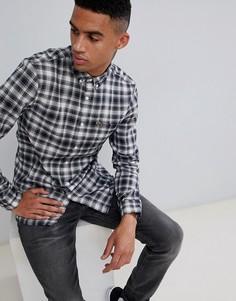 Farah Mcintyre check shirt in navy - Темно-синий