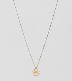 Ожерелье с подвесками-монетками Liars & Lovers - Золотой