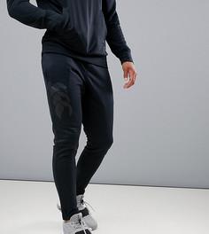 Черные зауженные брюки стретч Canterbury Vapodri эксклюзивно для ASOS - Черный
