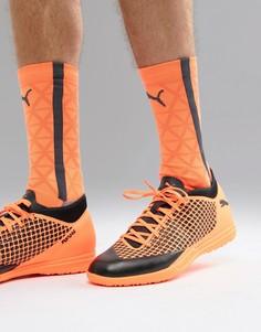 Оранжевые футбольные бутсы Puma Future 2.4 Astro Turf 104841-02 - Оранжевый