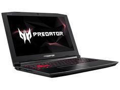 Ноутбук Acer Predator Helios 300 PH315-51-75XU Black NH.Q3HER.002 (Intel Core i7-8750H 2.2 GHz/16384Mb/1000Gb+128Gb SSD/nVidia GeForce GTX 1050Ti 4096Mb/Wi-Fi/Bluetooth/Cam/15.6/1920x1080/Linux)