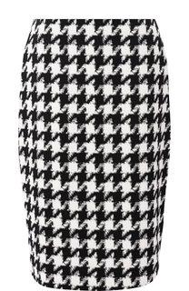 Хлопковая юбка-карандаш BOSS