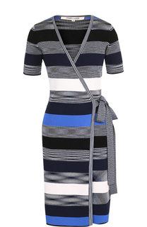 Платье из вискозы с запахом Diane Von Furstenberg