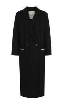 Двубортное шерстяное пальто Walk of Shame