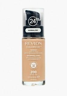 Тональное средство Revlon Для Нормальной и сухой Кожи Colorstay Makeup For Normal-Dry Skin Nude 200