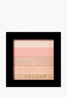 Хайлайтер Revlon Для Лица Highlighting Palette Rose glow 020