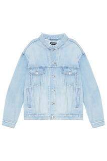 Голубая джинсовая куртка Balenciaga