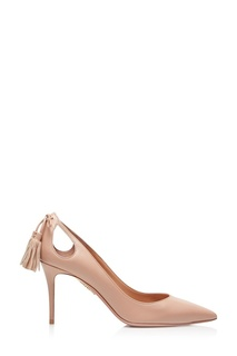 Бежевые туфли Forever Merilyn 105 Aquazzura
