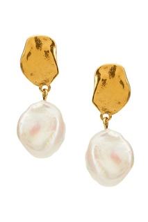 Серьги с перламутром Marusia Copine Jewelry