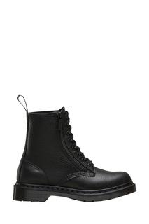 Высокие черные ботинки на шнуровке Dr Martens