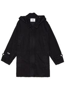 Черная хлопковая куртка Msgm