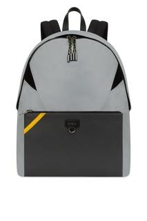 Текстильный рюкзак с накладным карманом Furla