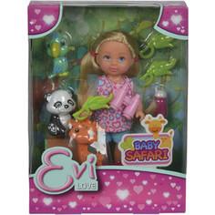 Simba Кукла Еви, набор Сафари, 12см, 12/96 (5733043)
