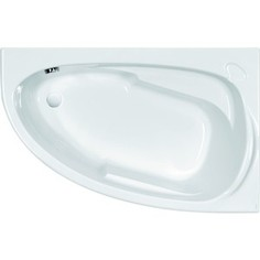Акриловая ванна Cersanit Joanna 150х95 см, правая, ультра белая (WA-JOANNA*150-R-W)