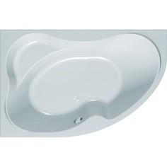 Акриловая ванна с гидромассажем Kolpa-san Lulu Magic R 170x110 см, правая, фронтальная панель, на каркасе, слив-перелив