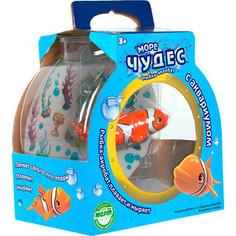 Интерактивная игрушка REDWOOD Набор Рыбка -Акробат Лаки с Аквариумом (159024)