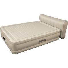 Надувная кровать Bestway 69019 Essence Fortech 229х152х79см со спинкой (встроенный электронасос)