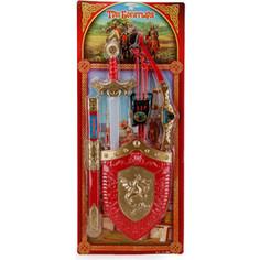 Игрушечное оружие Играем вместе Три Богатыря лук, щит и меч (B608255-R2)