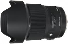 Объектив Sigma AF 20mm f/1.4 DG HSM | Art Canon (черный)