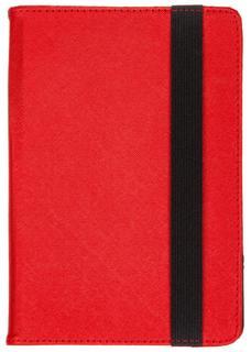 """Чехол-книжка CasePro Universal для планшетов до 7"""" (красный)"""