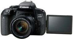 Зеркальный фотоаппарат Canon EOS 800D 18-55 IS STM (черный)