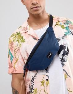 Темно-синяя сумка-кошелек на пояс Spiral - Темно-синий