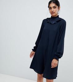 Платье миди Y.A.S Tall - Темно-синий