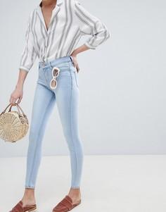 Мягкие джинсы скинни New Look India - Синий