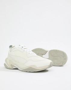 Белые кроссовки Puma Thunder Desert - Серый