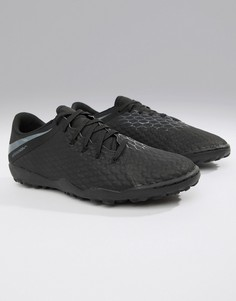 beaaa9cd Черные футбольные бутсы Nike Football PhantomX 3 Academy Astro Turf  AJ3815-001 - Черный