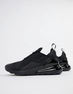 Черные кроссовки Nike Air Max 270 AH8050-005 - Черный